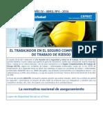 ABRIL 2016  -  El Trabajador en El SCTR