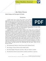 "Schlager, E. & Weible, C. ""New Theories of the Policy Process"""