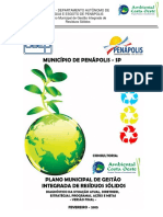 Plano de Gerenciamento Integrado de Residuos Solidos Penapolis