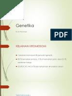 genetika, ppt