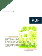Sistemas de comunicaciones en el transporte sanitario