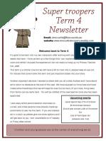 term 4 newsletter