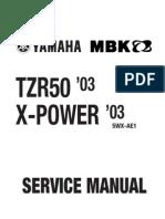 Yamaha TZR 50 03 -Service Manual