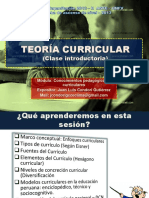 Clase Introductoria 2 TEORÍA CURRICULAR---1