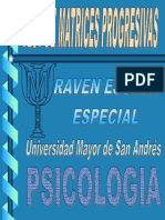 Test - Raven Matrices Progresivas