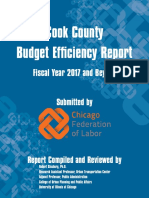 Cook County Efficiency Report FY2017, Chicago Federation of Labor
