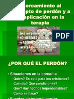 Acercamiento Al Concepto de Perdón y a Su Aplicación en La Terapia.