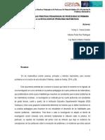 Reflexiones sobre las prácticas pedagógicas de profesoras de primaria relativas a la resolución de problemas matemáticos (Universidad de la Sabana)