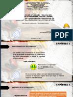 Aplicación y mejora del programa de seguridad y salud laboral