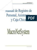 Manual - Caja Chica - Personal - Asistencia