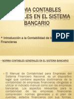 Norma Contables Generales en El Sistema Bancario