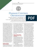 Damage Control Orthopaedics, Evolving