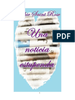 Una Noticia Estupenda (Spanish - Sophie Saint Rose