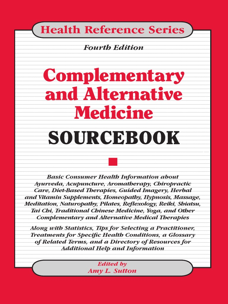 Complementary and Alternative Medicine Sourcebook | Alternative