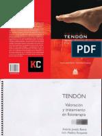 Tendón, Valoración y Tratamiento en Fisioterapia.pdf