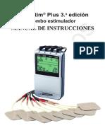 Twin Stim Plus 3rd Edition DS5402 Manual Spanish