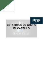Estatutos de Grupo El Castillo