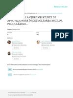 CONTRIBUTIALANTURILORSCURTEDEAPROVIZIONAREINDEZVOLTAREAMICILORPRODUCATORIAGROALIMENTARILOCALI.STUDIUDECAZ-JUDETULHARGHITA