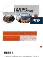 La Minería en El Peru