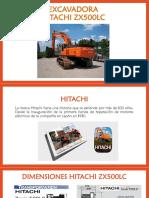Excavadora Hitachi Zx500lc - Manual Operacional