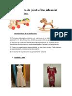 Procesos de Producción Artesanal