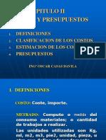 COSTOS Y PRESUPUESTOS -  CAP II (R1).ppt