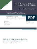 Teatro Sucre Albaicin Cajas Mena