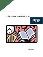Guías didácticas Fundar