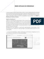 Plataformas Virtuales de Aprendizaje