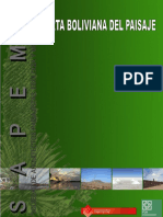 Carta Boliviana Del Paisaje 2013