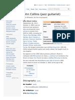 John Collins Jazz Guitarist Wikipedia