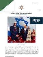 Asal-muasal  Zionisme Modern