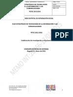Plan Estrategico de Tecnoogias de La Informacion y Comunicaciones