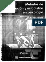 Metodos de Investigacion y Estadistica en Psicologia, Hugh Coolican