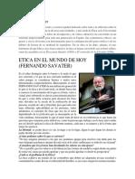 Fernando Savater Etica