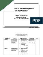 PEMETAAN KD KLS 6.doc