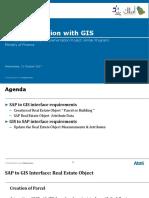 SAP REFX & GIS Integration