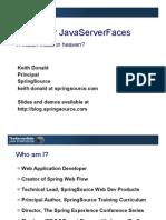 TSSJS2008 Donald Spring for Java Server Faces 1