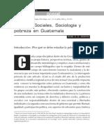 Ciencias Sociales, Sociología y pobreza en Guatemala - DOC.pdf