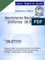 FÍSICA_MRU