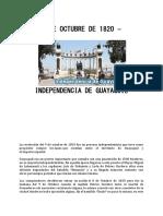 9 de Octubre de 1820