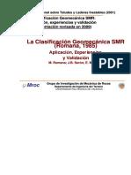 DocumentSlide.org-Clasificación Geomecanica SMR [Modo de Compatibilidad].PDF