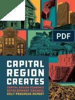 Capital Region REDC progress report 2017 October