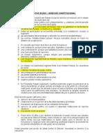 PREGUNTAS ECAES CONSTITUCIONAL