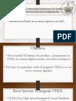 Introducción Al Diseño de Un Sistema Digital Con Un HDL