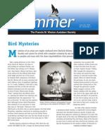 June.-July 2009 Skimmer Newsletter Francis M. Weston Audubon Society