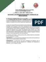 Invitacion Artes Plasticas