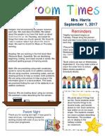sept  2 newsletter