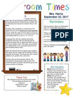 sept  22 newsletter