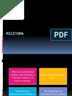 Micetoma y Esporotricosis